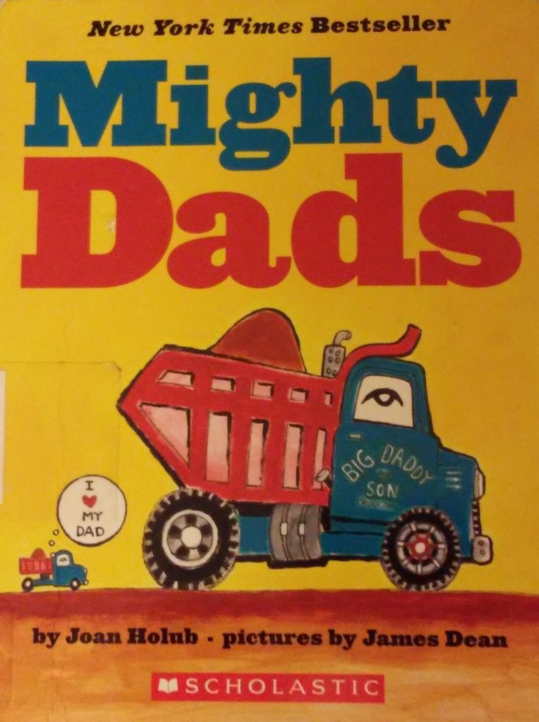The cover of Mighty Dads book.