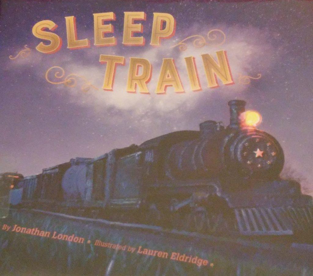 The cover of Sleep Train book.