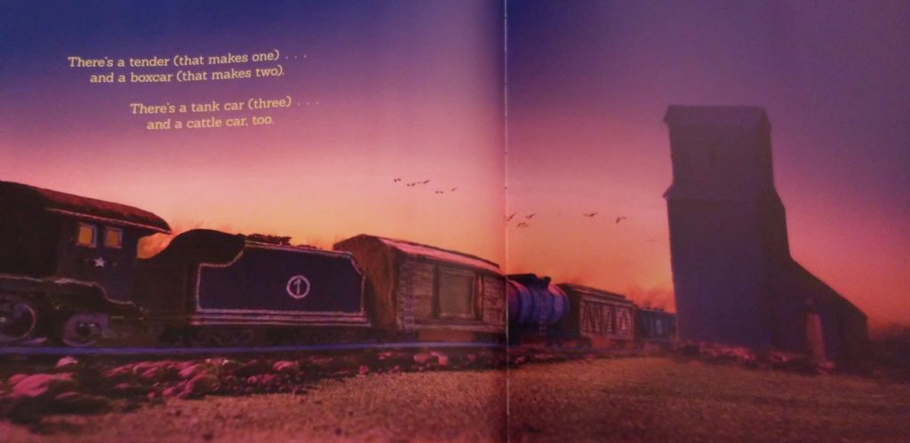 A page from Sleep Train book.