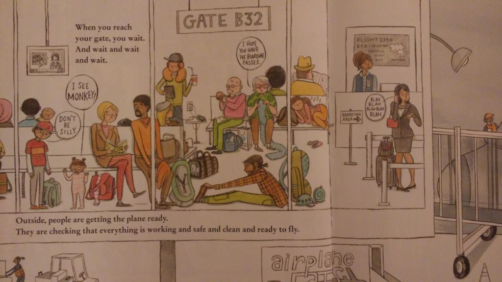 A page from The Airport Book.