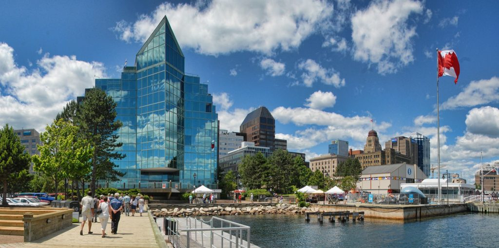 Picture of Halifax Waterfront.