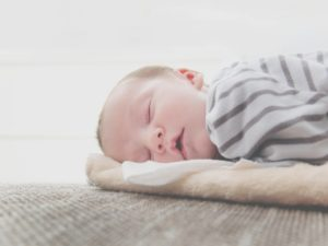 Picture of a toddler sleeping soundly.