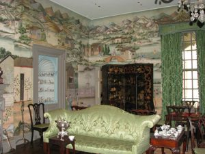 Picture of a decorated room inside the Winterthur House.