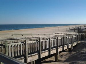 Picture of the beach at Fenwick Island State Park.