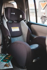 Picture showing a child's car seat.